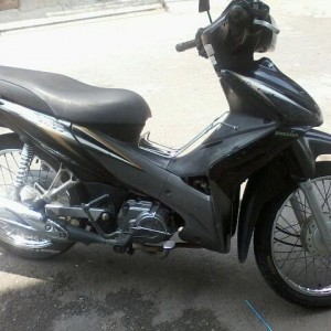 Black Honda Wave 110cc
