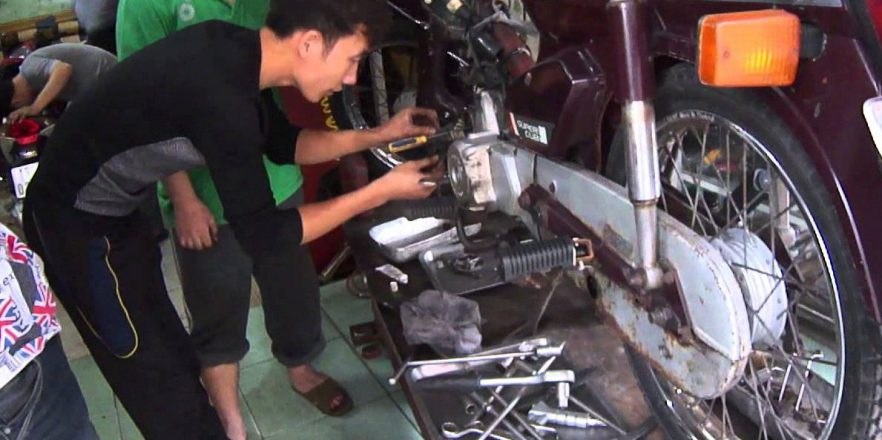 10 repair shop motorbike in Hanoi