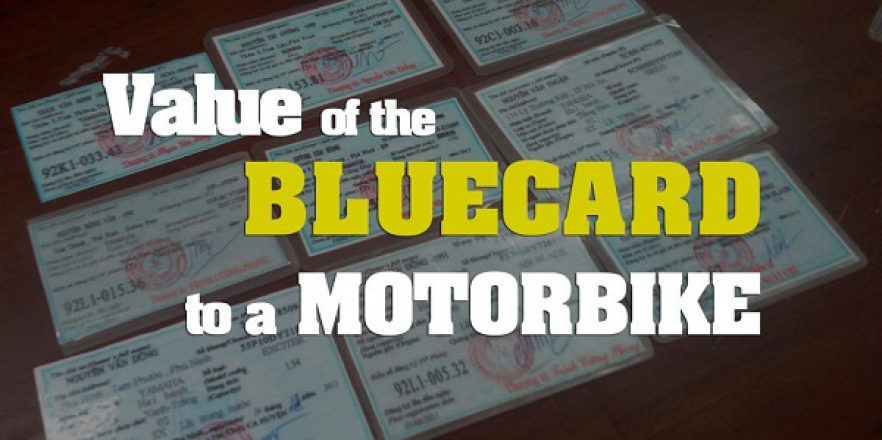How to Register a motorbike blue card for Foreigners in Vietnam